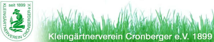 Logo Kleingärtnerverein Cronberger 1899 e.V.